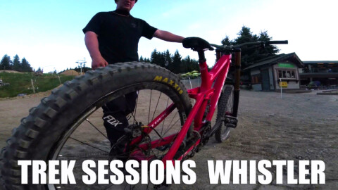 Trek Sessions James Thompson Whistler BikeChecks