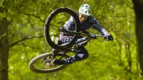 Kriss Kyle mezclando el BMX y trail! |The Scotish Wildcard