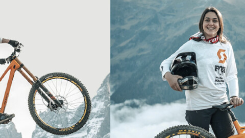 Atrapame si puedes! Marine Cabirou DH en Champery